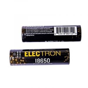 Blackcell 18650 Electron Battery